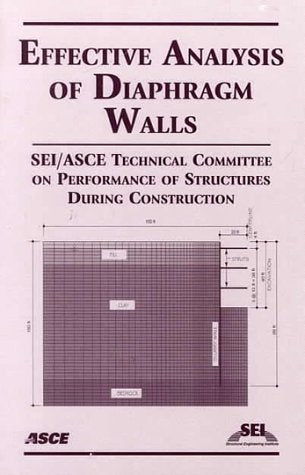 Effective Analysis of Diaphragm Walls
