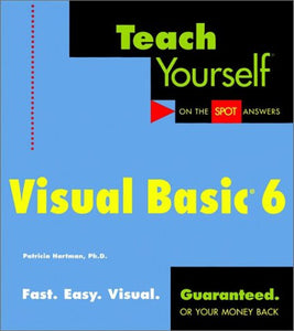 Teach Yourself Visual Basic 6 (Teach Yourself (IDG))