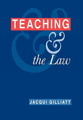 Teaching & the Law