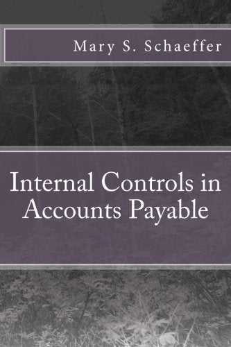 Internal Controls In Accounts Payable