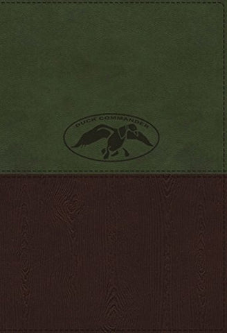 Nkjv, Duck Commander Faith And Family Bible, Leathersoft, Green/Brown