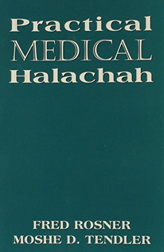 Practical Medical Halachah