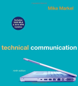 Technical Communication With 2009 Mla And 2010 Apa Updates
