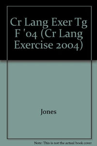 Language Excercises: Level F (Cr Lang Exercise 2004) (Steck-Vaughn Language Exercises)