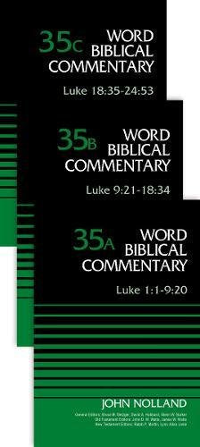 35A-C: Luke (3-Volume Set---35A, 35B, and 35C) (Word Biblical Commentary)