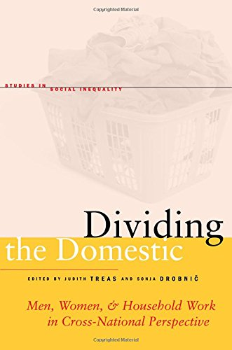 Dividing the Domestic: Men, Women, and Household Work in Cross-National Perspective (Studies in Social Inequality)