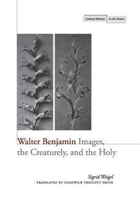 Walter Benjamin: Images, the Creaturely, and the Holy (Cultural Memory in the Present)