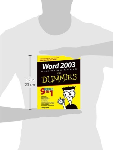 Word 2003 All-in-One Desk Reference For Dummies