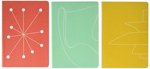 Mid-Century Modern: Notebooks: Set of 3 (Thames & Hudson Gift)