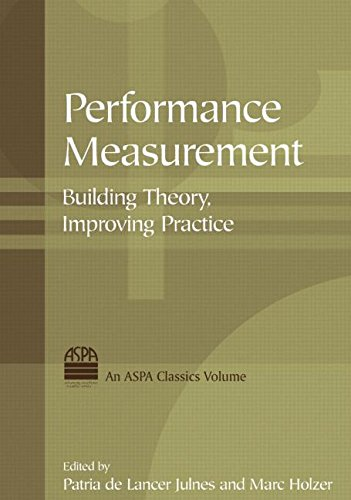 Performance Measurement: Building Theory, Improving Practice (ASPA Classics (Hardcover))