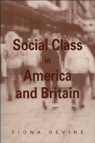 Social Class in America and Britain