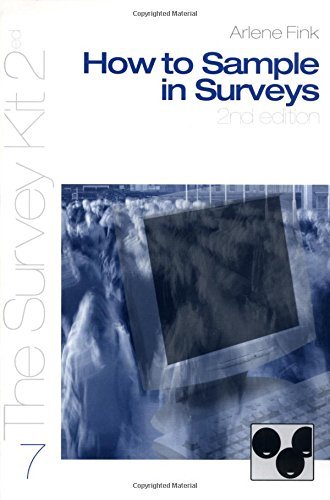 How to Sample in Surveys (Survey Kit Second Edition 7 7)
