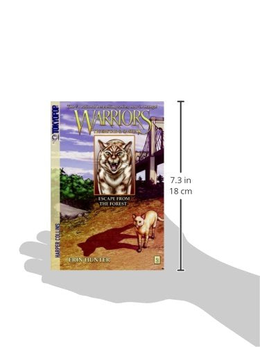 Escape From The Forest (Turtleback School & Library Binding Edition) (Warriors Manga: Tigerstar & Sasha)