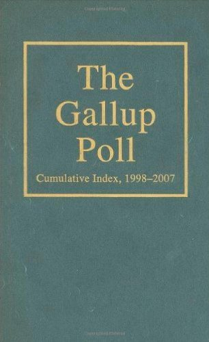 The Gallup Poll Cumulative Index: Public Opinion, 1998-2007 (Gallup Polls Annual (rl))