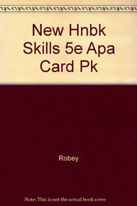 New Handbook of Basic Writing Skills with APA Update Card