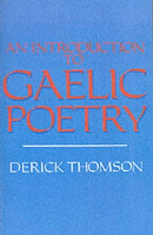 An Introduction to Gaelic Poetry