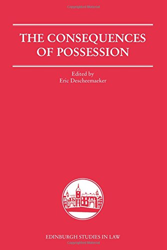 The Consequences of Possession (Edinburgh Studies in Law EUP)
