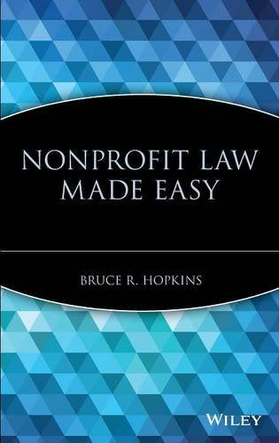 Nonprofit Law Made Easy