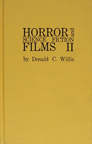 Horror and Science Fiction Films II (1972-1981)