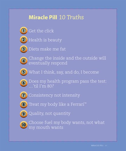 Miracle Pill: 10 Truths To Healthy, Thin, & Sexy, Eat The Foods You Want & Stay Trim Forever