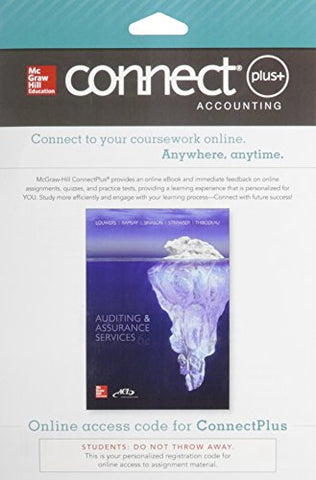 Connect 2-Semester Access Card for Auditing & Assurance Services