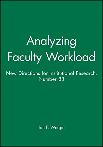 Analyzing Faculty Workload