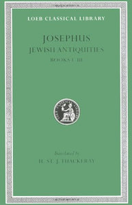 Josephus: Jewish Antiquities (Books 1-3)