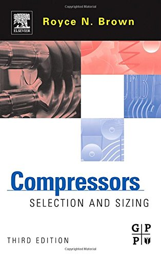 Compressors, Third Edition: Selection and Sizing
