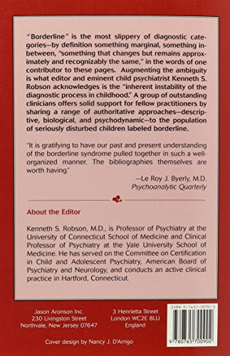Borderline Child: Etiology, Diagnosis and Treatment (Master Work)