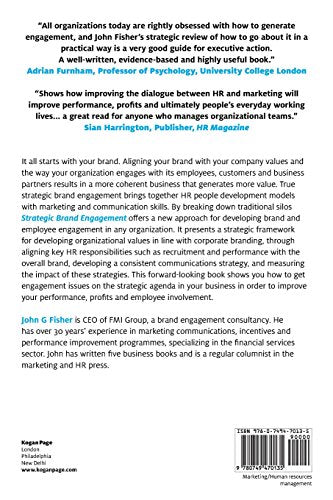 Strategic Brand Engagement: Using HR and Marketing to Connect Your Brand Customers, Channel Partners and Employees