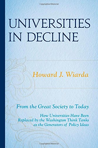 Universities in Decline: From the Great Society to Today