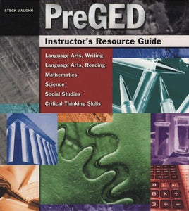 Pre-GED: Instructor's Resource Guide