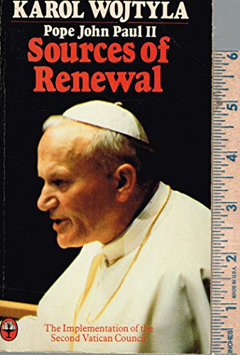Sources of Renewal: Implementation of the Second Vatican Council