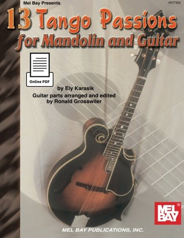 13 Tango Passions for Mandolin and Guitar