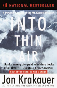 Into Thin Air (Turtleback School & Library Binding Edition)