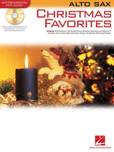 Christmas Favorites Alto Sax BK/CD Instrumental Play-Along
