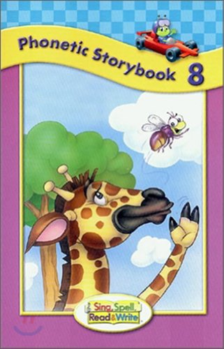 SING, SPELL, READ AND WRITE LEVEL ONE STORYBOOK 8 '04C