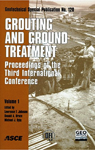 Grouting and Ground Treatment: Proceedings of the Third International Conference, February 10-12, 2003, New Orleans, Louisiana (Geotechnical Special Publication) (v. 1 & 2)