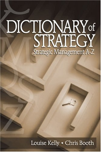 Dictionary of Strategy: Strategic Management A-Z