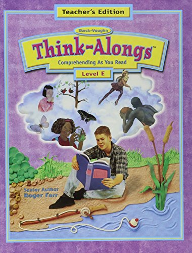 Steck-Vaughn Think Alongs: Teacher's Edition   (Level E) 2000
