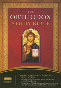 The Orthodox Study Bible: New King James Verison, Black, Bonded Leather
