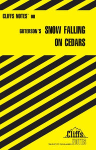 CliffsNotes on Guterson's Snow Falling on Cedars (Cliffsnotes Literature Guides)