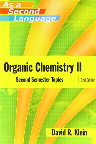 Organic Chemistry Ii As A Second Language: Second Semester Topics