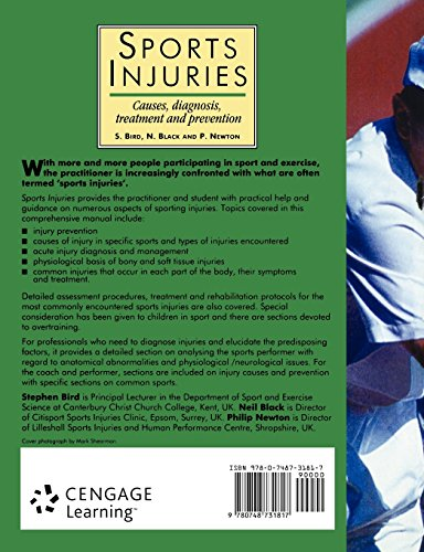 Sports Injuries: Causes, Diagnosis, Treatment and Prevention (Therapy in Practice)