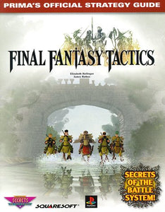 Final Fantasy Tactics (Prima'S Official Strategy Guide)