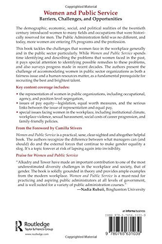 Women and Public Service: Barriers, Challenges and Opportunities