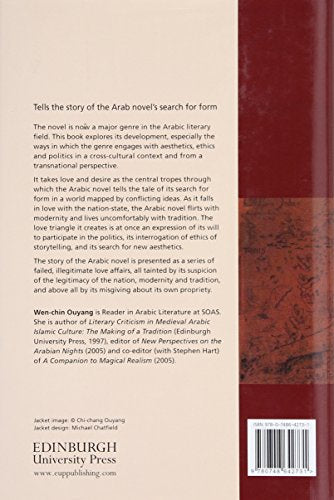 Poetics of Love in the Arabic Novel: Nation-State, Modernity and Tradition