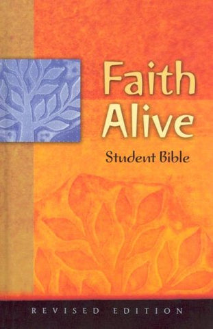 Faith Alive Bible-Niv-Student