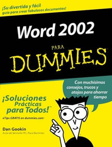 Word 2002 Para Dummies (Spanish Edition)