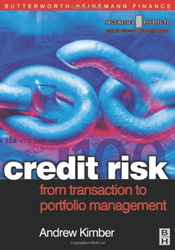 Credit Risk: From Transaction to Portfolio Management (Securities Institute Global Capital Markets)
